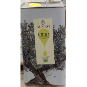 Organic extra virgin olive oil Adamo - 5 litre can  - <font color=#FF000>Year 2017</font>