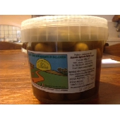 Sicilian crushed green Olives Nocellara del Belice in brine - Az. Agricola Melia