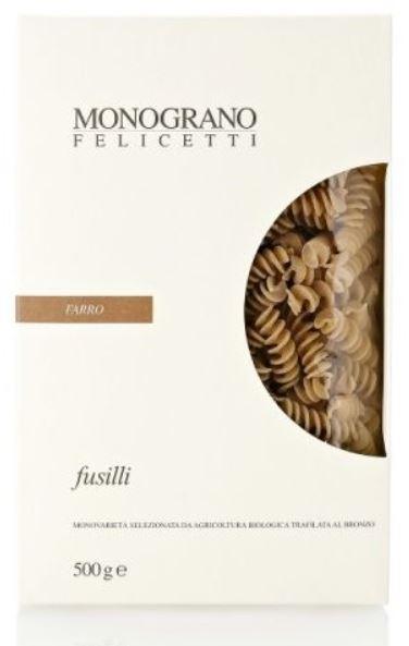 Fusilli monograno al Farro - Pastificio Felicetti