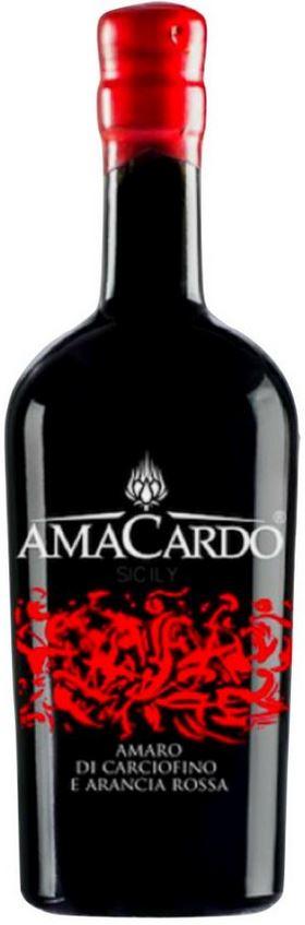 Amacardo - Amaro di Carciofino Selvatico dell'Etna e Arancia Rossa