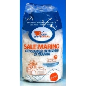Coarse sea salt of Trapani