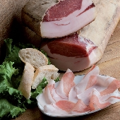 Lonzalardo (loin ham with lard) - Al Berlinghetto