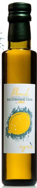 Monet - flavoured extra virgin olive oil - Lemon
