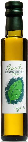 Basil - flavoured extra virgin olive oil - basil