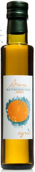 Aran - flavoured extra virgin olive oil - orange