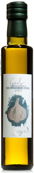 Garly - flavoured extra virgin olive oil - garlic