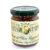 Taggiasca olive pat� (with extra virgin olive oil)