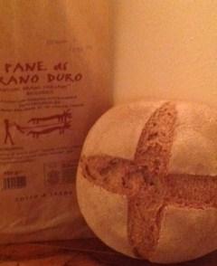 Stonebaked organic durum wheat bread - Forno Astori