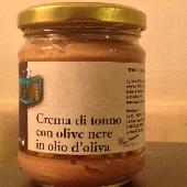 Cream of tuna and black olives in olive oil - Mare Puro