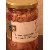 Tuna pieces in olive oil - Mare Puro