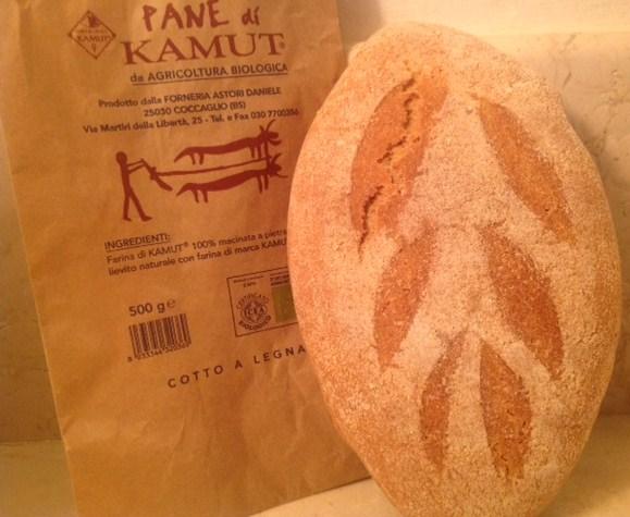 Stonebaked organic bread with Kamut flour - Forno Astori