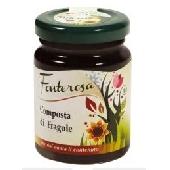 Strawberry balsamic vinegar compote - FONTEROSA
