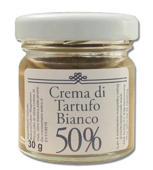 Cream with 50% white truffle - I Peccati Di Ciacco