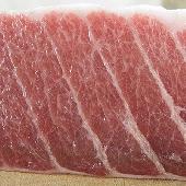 Fresh bluefin tuna ventresca