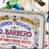 METAL BOX WITH A SPECIAL MIX OF TORRONCINI - Torronificio Barbero