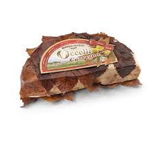 Cheese Occelli  in  Chestnut leaves - The Special di Beppino Occelli