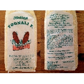 Wholemeal red barbed corn germ fiber with ground stone - Molino Tognali