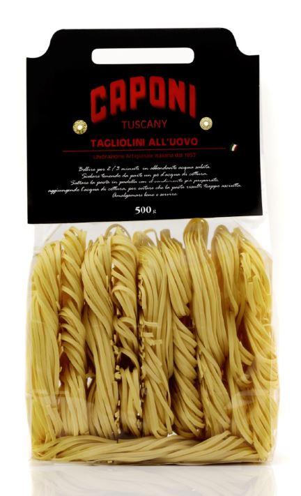 Tagliolini (egg pasta) Caponi