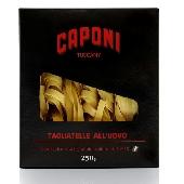 Tagliatelle  Caponi (egg pasta)