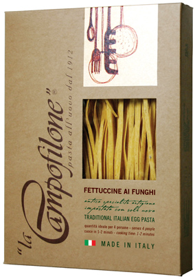Fettuccine of  Campofilone - WITH MUSHROOMS
