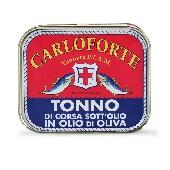 Filetto di Tonno rosso di corsa sott'olio - Tonnare di Carloforte