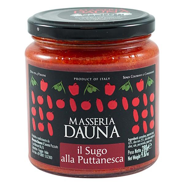 Sauce 'alla puttanesca' - Masseria Dauna